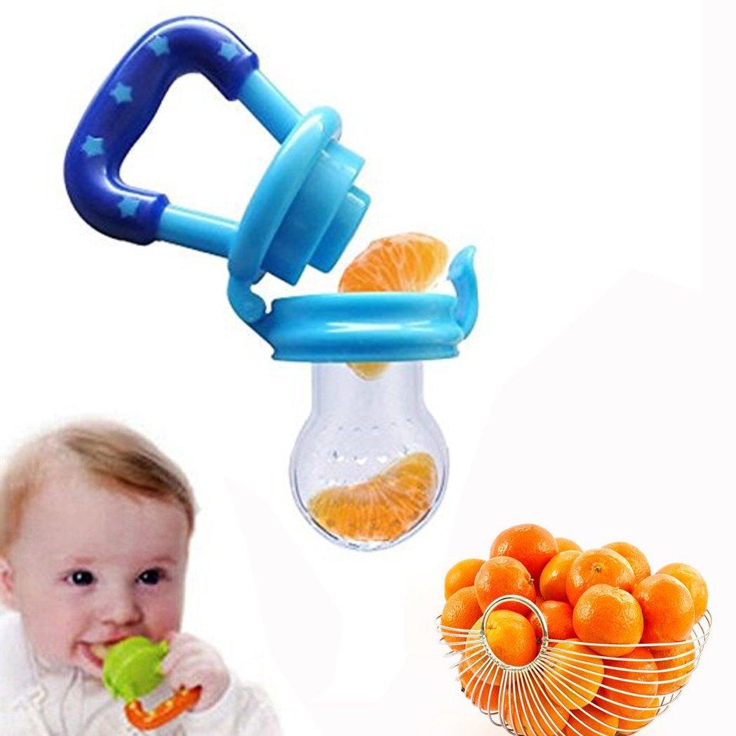Cisixin Silikon Schnuller Baby Schnuller Kinder Kreativ Silikon Schnuller für Mädchen, Junge Obst und Gemüse Ergänzende