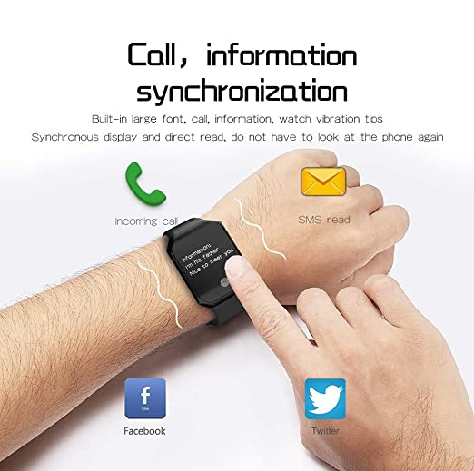 Amazon.com: AW-SJ - Pulsera inteligente Bluetooth con ...