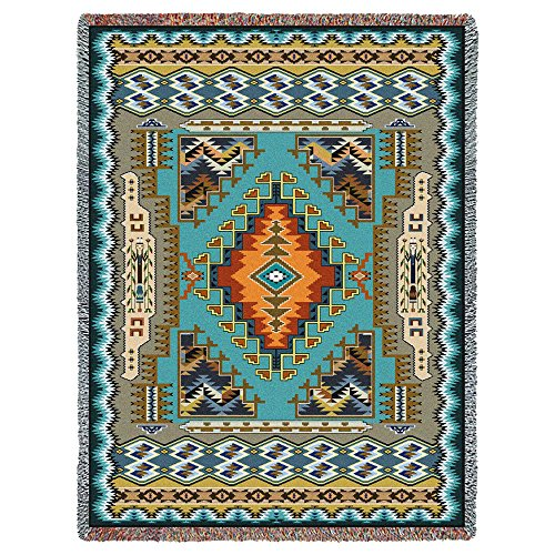 Pure Country Inc. Painted Hills Sky Tapestry Throw - Pure Country Cotton Tapestry