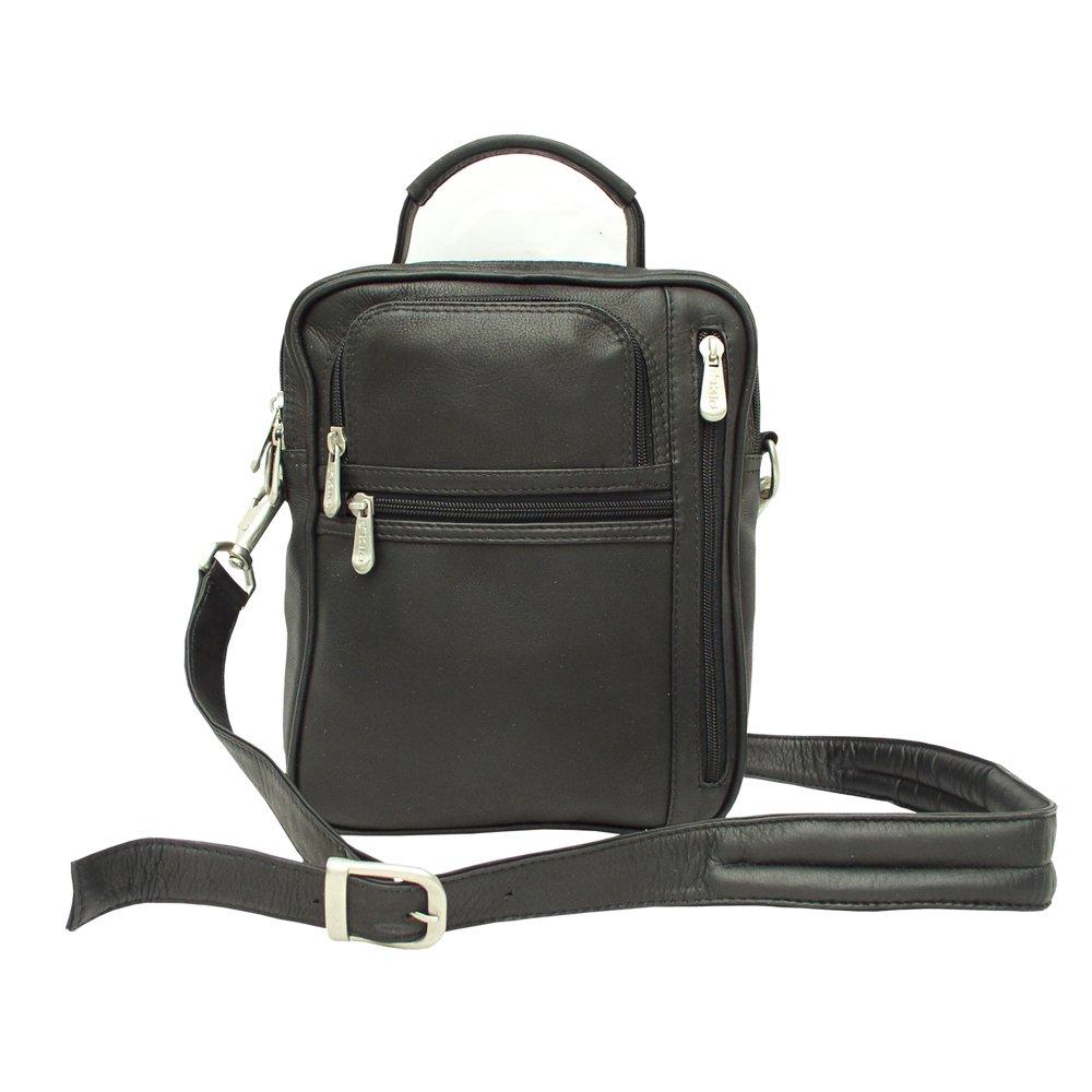 Piel Leather Radio Video Camera Bag, Black, One Size