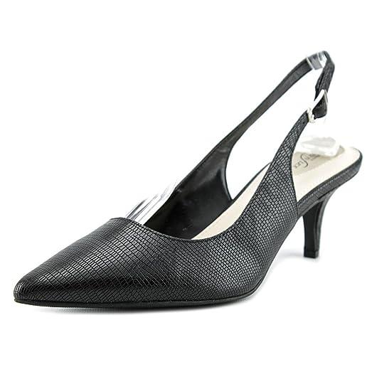 Alfani Babbsy Women US 6 Black Slingback Heel