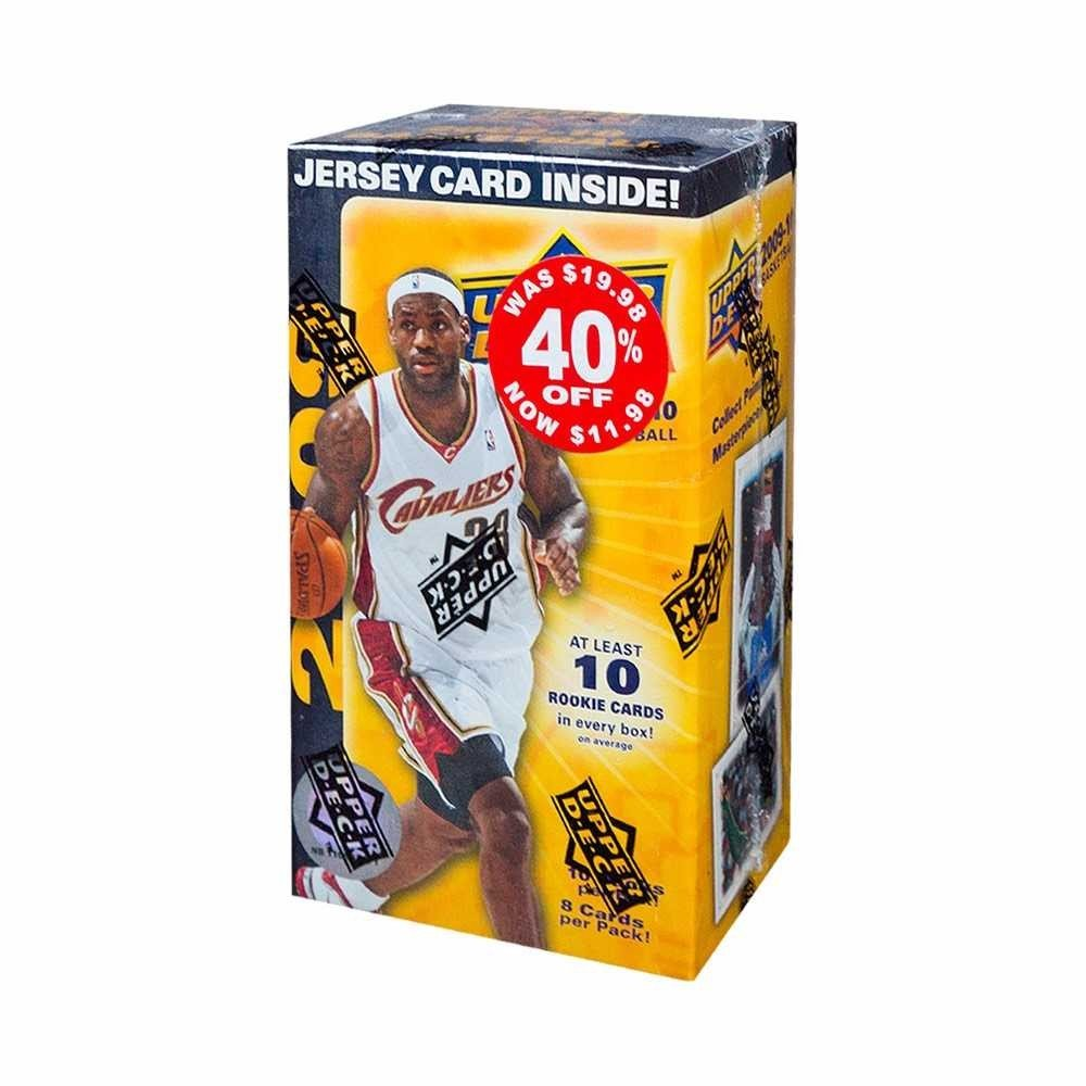 2009-10 Upper Deck Basketball 10ct Blaster Box