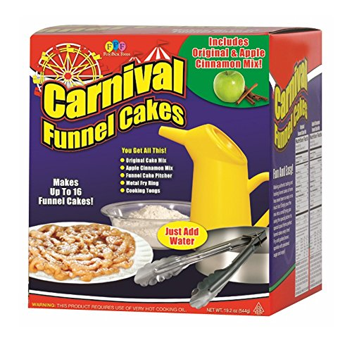 Funnel Cake Ring - Fun Pack Foods - Carnival Funnel Cakes Deluxe Kit