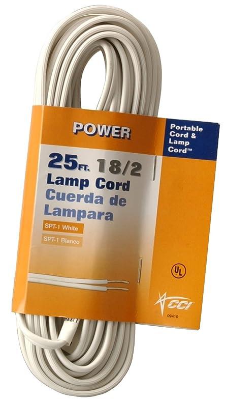 Coleman Cable 09410 89 51 18 2 Bulk Lamp Cord 13