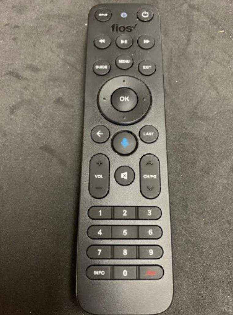 Verizon FiOS TV One Voice Remote Control 2019 - MG3-R32140B VRC4100 BLE - All in One Smart Voice Remotes + 2 AA Batteries Included