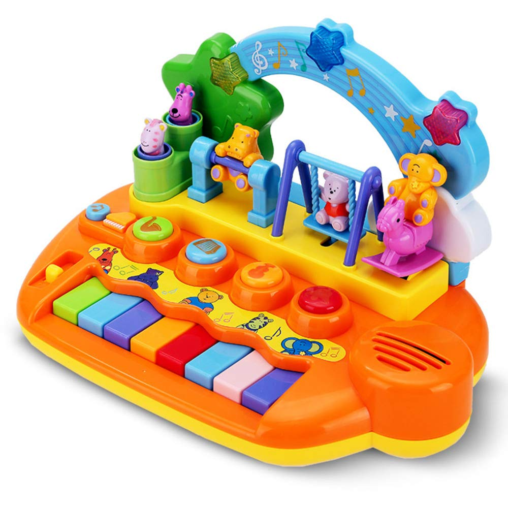 entrega rápida QXMEI Juguetes para Niños Teclado Multifunción Música Piano Piano Piano 1-5 Años Juguetes De Música  respuestas rápidas