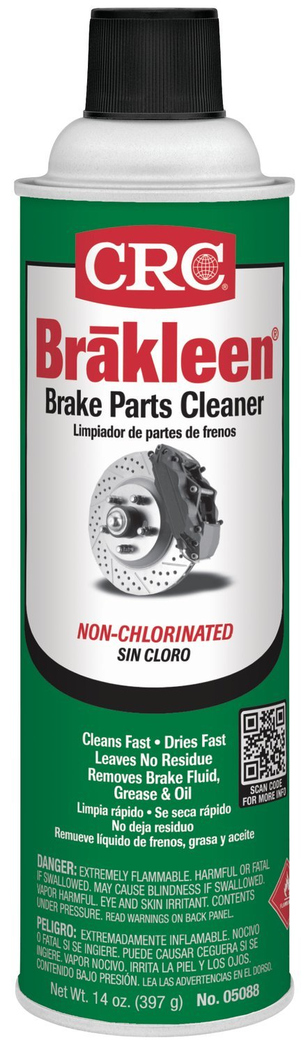 SEPTLS12505088 - CRC Brakleen Non-Chlorinated Brake Parts Cleaners - 05088