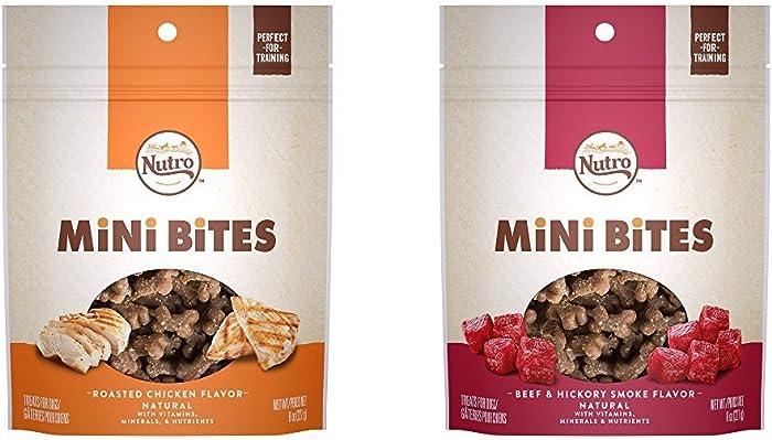 Nutro Mini Bites Dog Treats (2) 8 oz. Bags