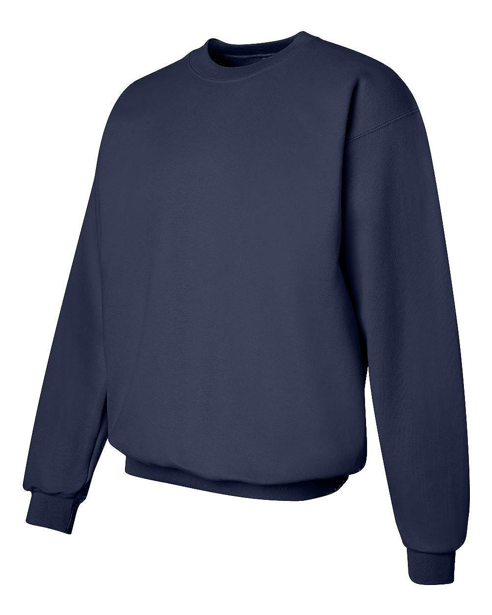 Sweater Set of 2 Hanes Mens Ultimate Cotton Fleece Crew 10 oz