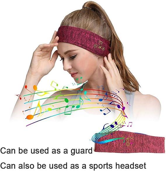 Yr Schlaf Kopfhörer Bluetooth Stirnband Lange Zeit Spielt Drahtlose Sport Schlafen Headsets Mit Eingebautem Lautsprecher Perfekt Für Training Laufen Yoga Küche Haushalt