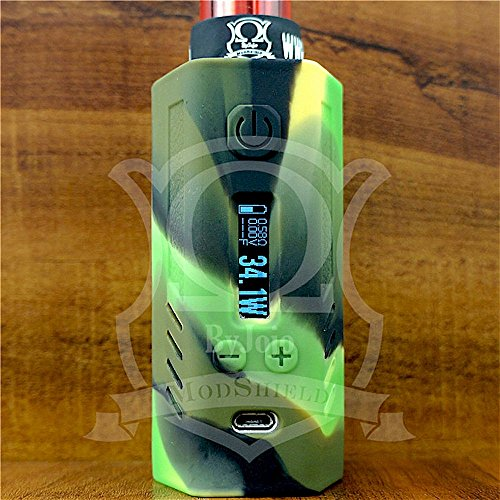 ModShield for Lost Vape Triade DNA200 & DNA250 Silicone Case 200W & 250W TC Sleeve Skin DNA Shield ByJojo (Camo)