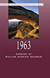 1963 - Sermons of William Marrion Branham (English Edition)