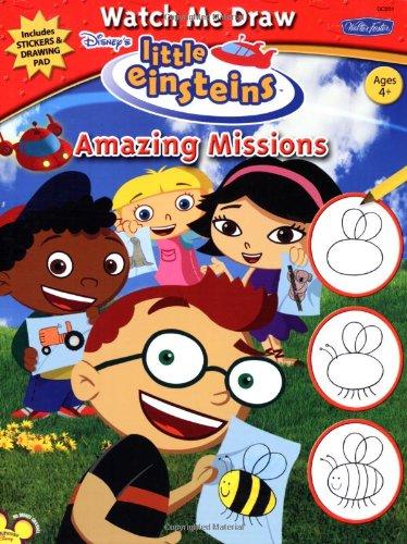 Download Watch Me Draw Disney's Little Einsteins Amazing Missions PDF