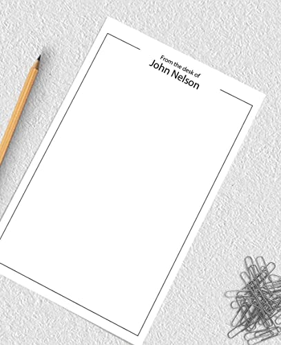 ON SALE Personalised Notepad Social Media Custom Best Friend Gift or Husband Gift for To Do List or Stationery with Personal Hashtags I