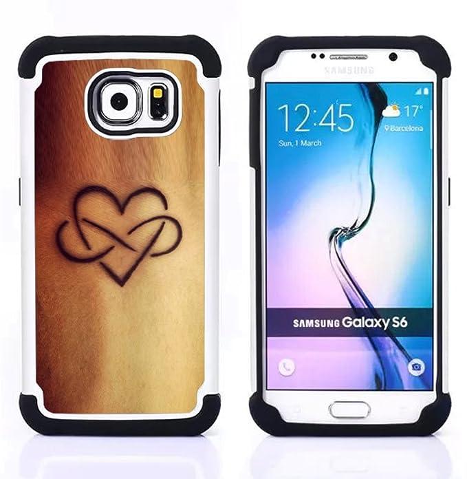 Para Samsung Galaxy S6 G9200 - de tinta golden skin amor infinito ...