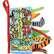 Animal Tails Cloth Book,Baby(3-12 M) Toy,By Gbell, Development Books Learning & Education books (H)