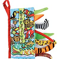 Animal Tails Cloth Book,Baby(3-12 M) Toy,By Gbell, Development Books Learning...