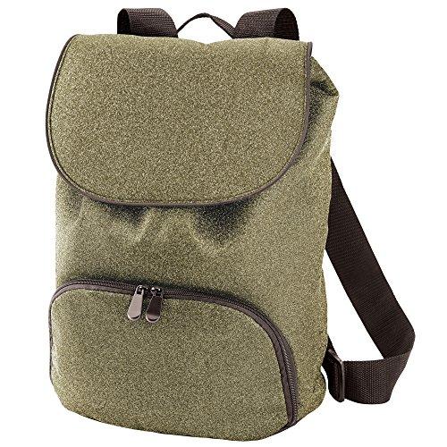 Augusta Sportswear Glitter Backpack, One Size, Gold Glitter/Black (Gold Bell Glitter)