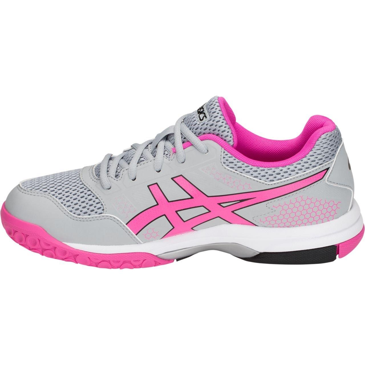 ASICS Women's Gel-Rocket US|Mid 8 Volleyball Shoe B0788JH4L1 10.5 M US|Mid Gel-Rocket Grey/Pink Glo c5f0c5