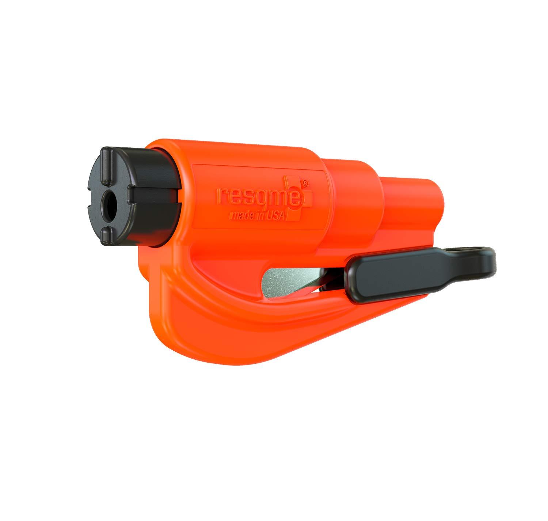 Resqme GBO-RQM-ORANGE Herramienta Rompecristales, Naranja, 1 Unidad Innovation Distributing dba nov8 01.100.05