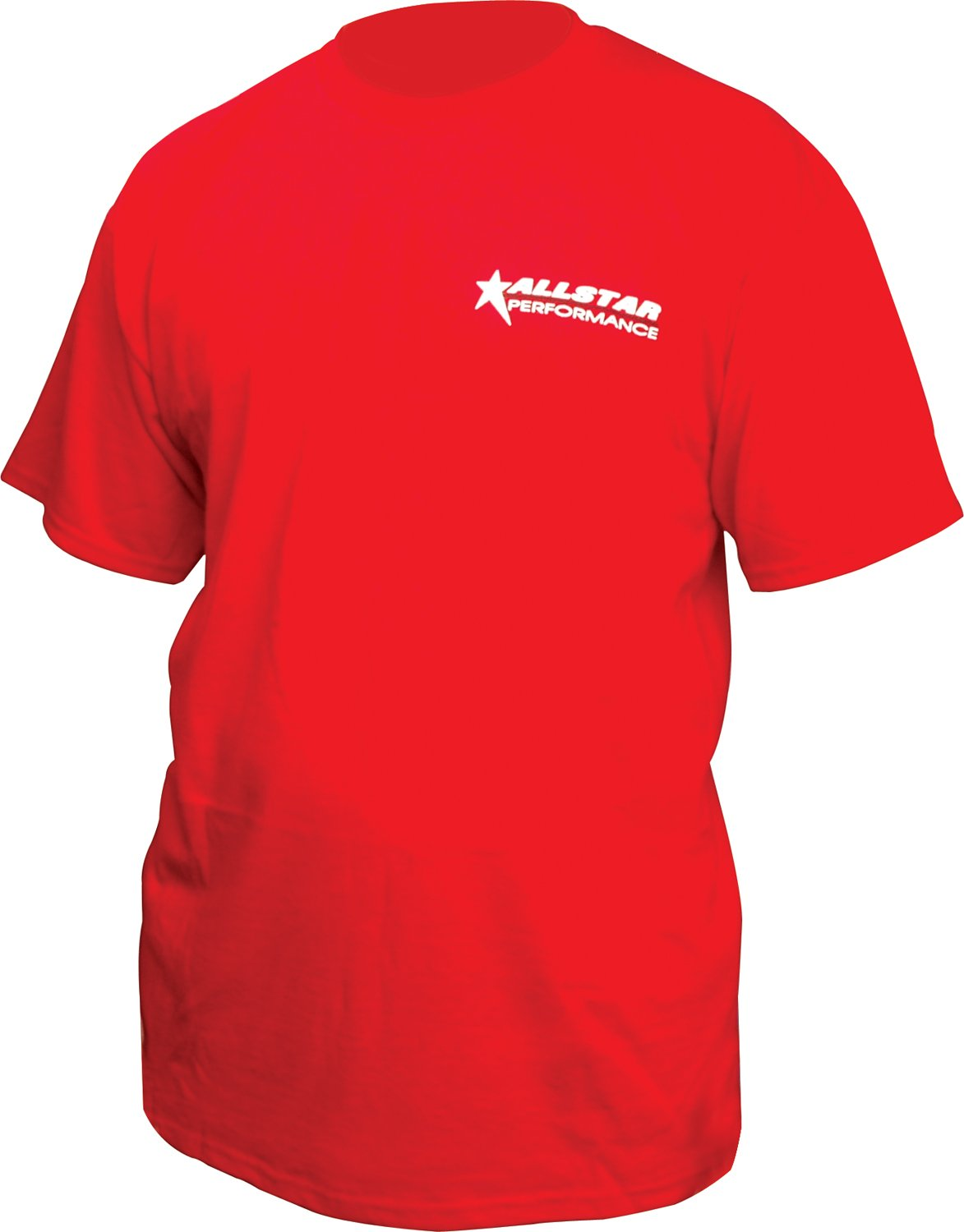 Allstar ALL99904XXL Red XX-Large T-Shirt with Allstar Logo Front and Back