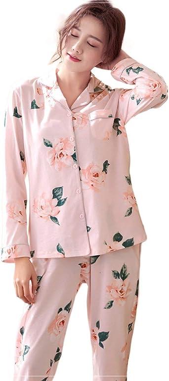 Femme 2 Pièces Fleurs Impression Pyjama Pyjama