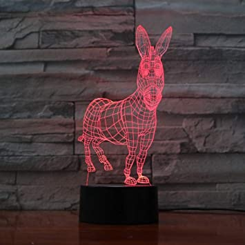 Twilight Change Visual Animal Modelling Table Lamp atmósfera ...