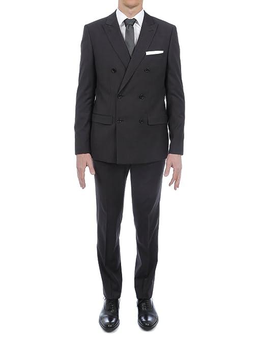 474469f045c60 Bruce Field - Costume croisé en Pure Laine Super 150's: Amazon.fr:  Vêtements et accessoires