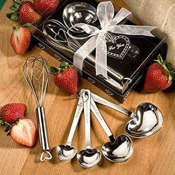 Measuring Spoon And Whisk Favor Sets Fashion Craft