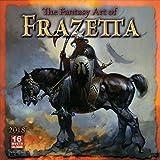 The Fantasy Art of Frazetta 2018 Wall Calendar (CA0166)