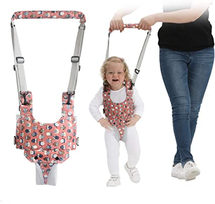 Baby Child Toddler Safety Easy Wash Harness /& Step Walking Assistant Reins UK DI
