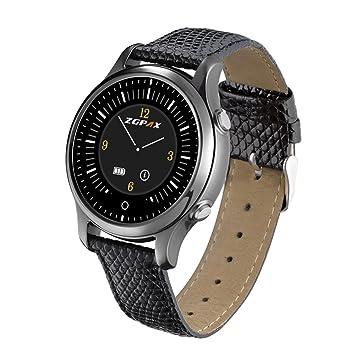 "ZGPAX S360 1.22 ""Bluetooth Reloj Inteligente 240 * 240 Pixel MTK2502 128M ROM Reloj"