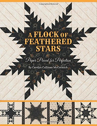 Feathered Star Pattern Quilt - A Flock of Feathered Stars: Paper Pieced for Perfection