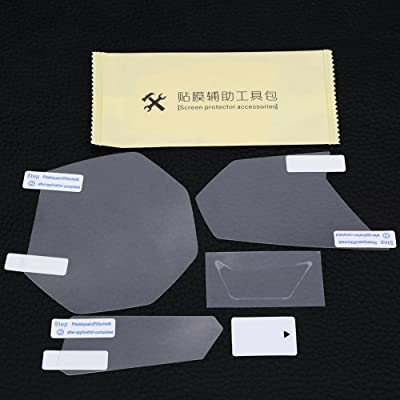 Cuque Cluster Scratch Protection Film Screen Protector for YZF R3 MT03 MT-03 Cluster Screen Protector: Automotive