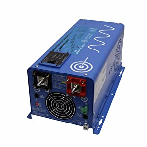 AIMS Power 2000 Watt 48 VDC Pure Sine Inverter Charger w/ 6000W Surge