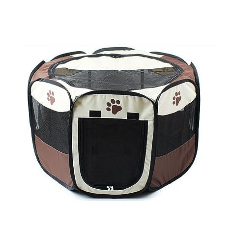 EWUGO Bolígrafo Plegable de Tela para Mascotas, Perro, Gato, Cachorro, Conejo,