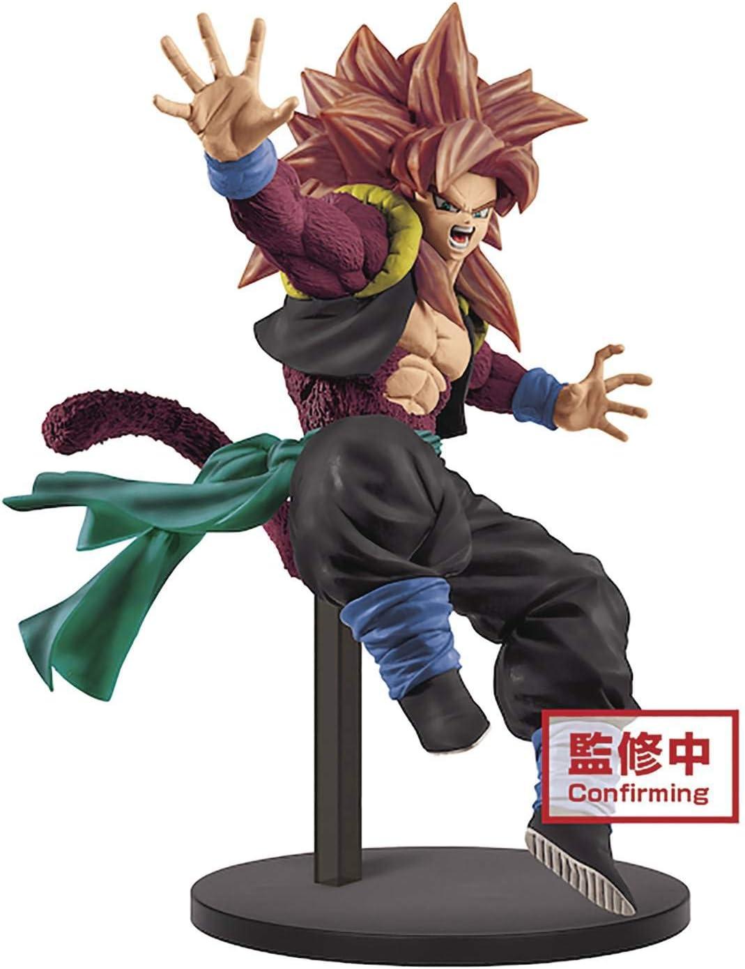 Amazon Com Super Dragon Ball Heroes 9th Anniversary Figure Super Saiyan 4 Gogeta Xeno Multiple Colors Toys Games