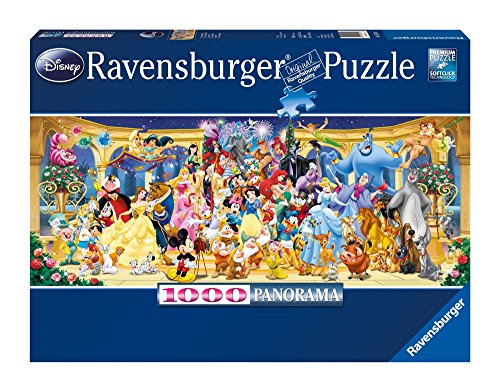 Ravensburger Disney Panoramic Jigsaw Puzzle (1000 Piece) (Disney Puzzle Ravensburger)