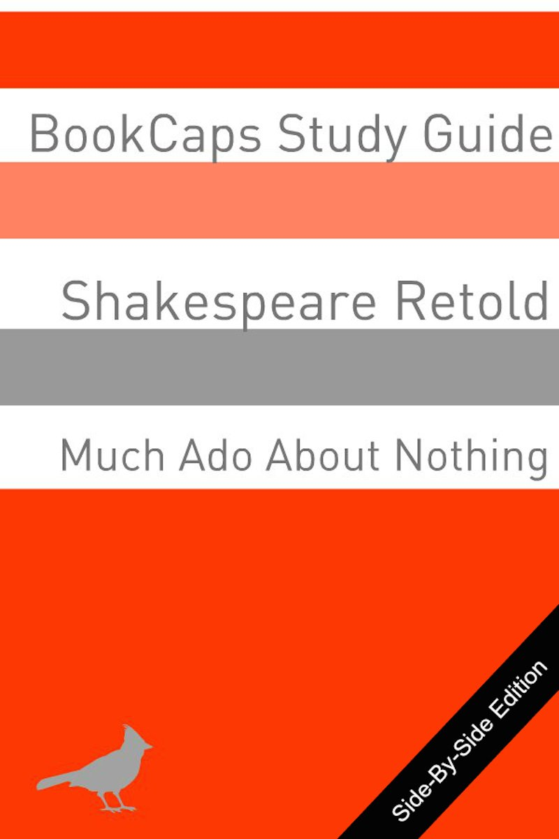 Much Ado About Nothing With Side By Modern English Translation Shakespeare Book 9 Kindle Edition William Bookcap Literature Fiction Ebook Amazon C Paraphrase Pdf Download