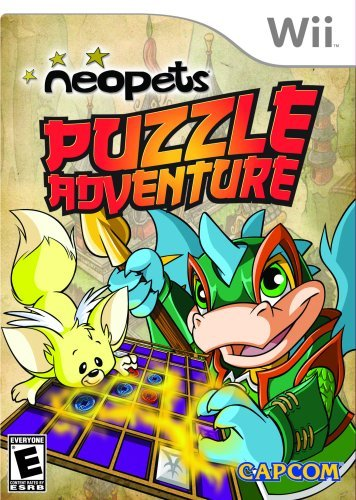 Neopets Puzzle Adventure - Nintendo Wii by Capcom