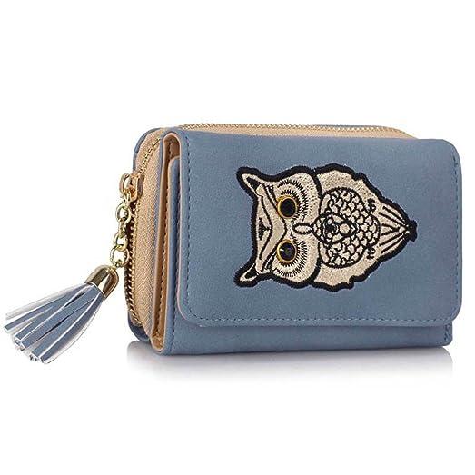 56729de0bc Purses and handbags for teen girls faux leather coin purse ladies designer  wallet owl design purse