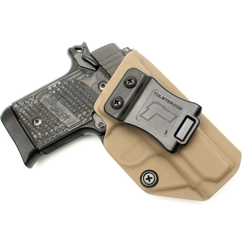 Tulster Sig P938 Holster IWB Profile Holster (Flat Dark Earth - Right Hand) by Tulster (Image #1)