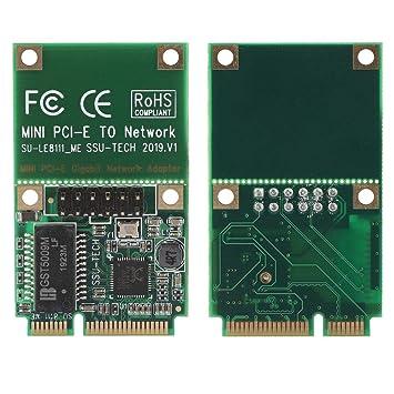 ASHATA Tarjeta de Red PCI-E, Tarjeta de Red con Cable PCI-E ...