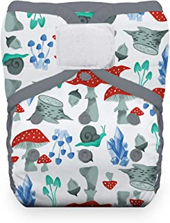 product image for Thirsties Reusable Cloth Diaper, One Size Pocket Diaper, Hook & Loop Closure, Forest Frolic