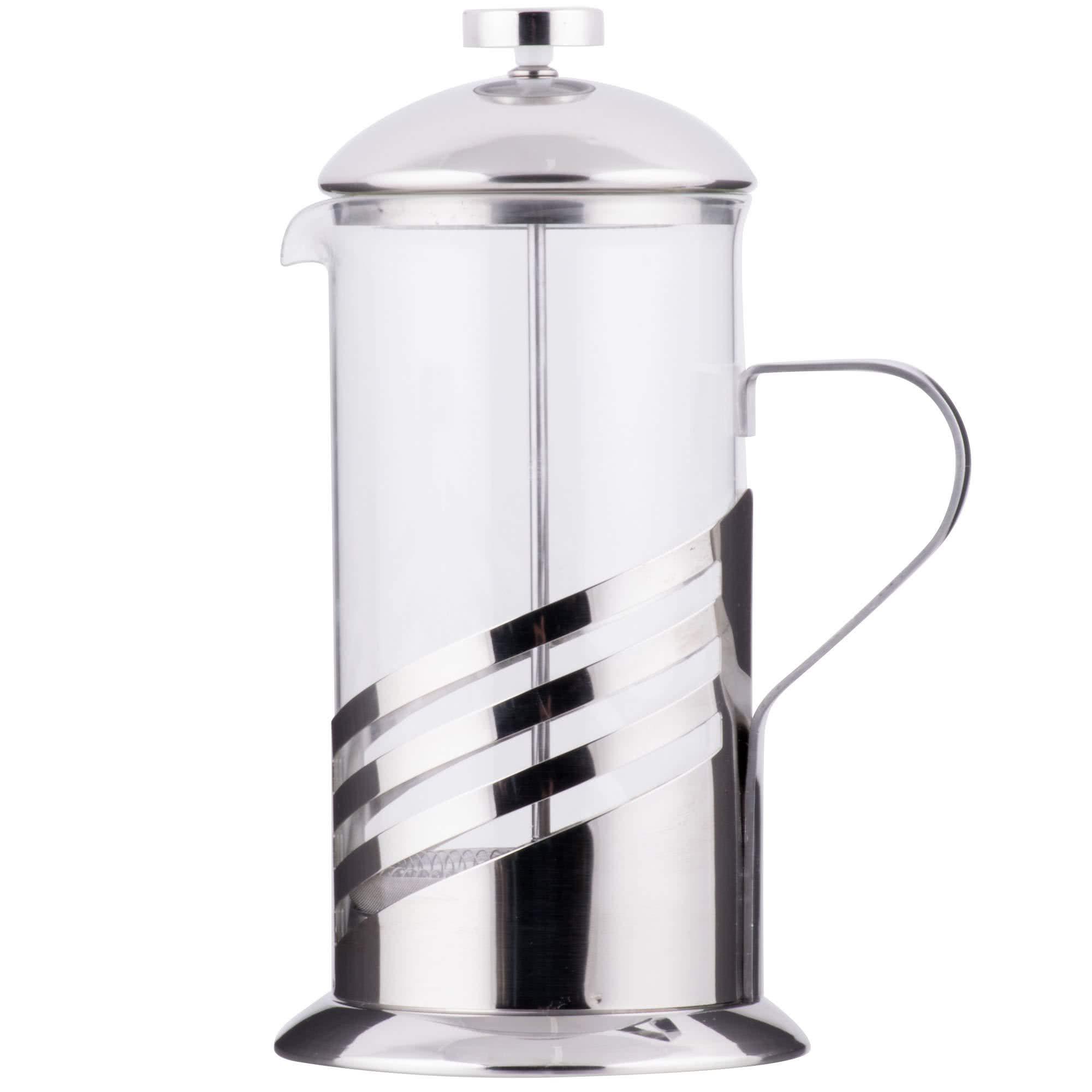TableTop King 33 oz. Glass/Silver French Coffee Press
