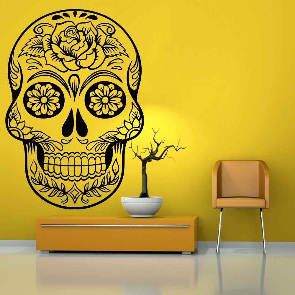 Perfect Sugar Skull Wall Art Elaboration - All About Wallart ...
