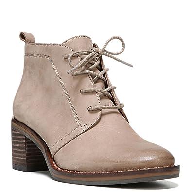9bae36865703a Amazon.com   Franco Sarto Women's Bethea Lace-Up Bootie, Sandstone Suede,  US 9.5 M   Ankle & Bootie