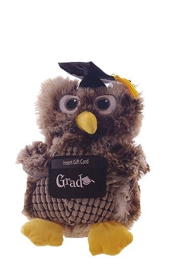 Amazon Com Graduation 12 Owl Stuffed Animal Gift Card Holder