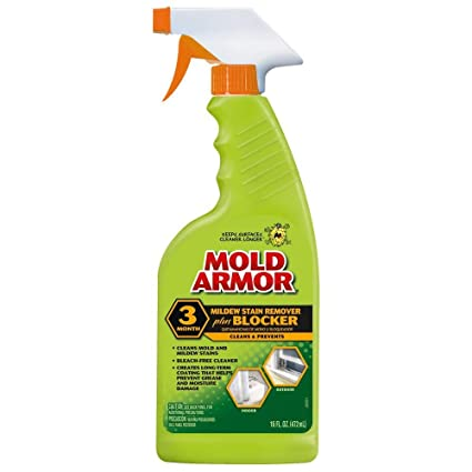 Mold Armor NEW Mildew Stain Remover Plus Blocker 16oz Amazon