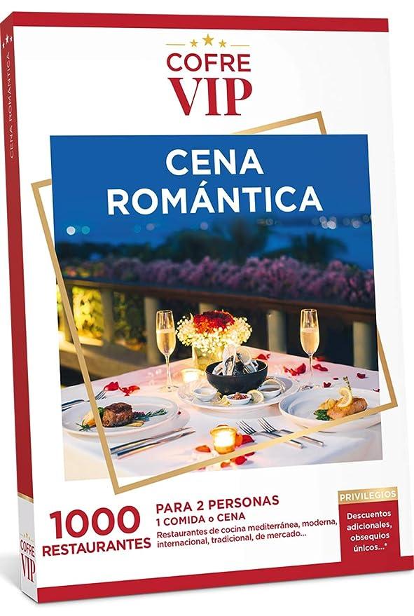 CofreVIP Caja Regalo Cena ROMÁNTICA 1.000 restaurantes a Elegir ...